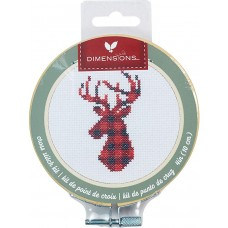 """Набор для вышивания крестом """"Plaid Deer//Олень"""" DIMENSIONS 72-76048"""