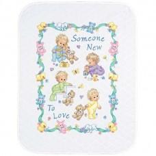 """Набор для вышивания крестом """"Новорожденный//Someone New Baby Quilt"""" DIMENSIONS 72963"""
