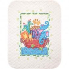 """Набор для вышивания крестом """"Ноев Ковчег//Noah's Ark Quilt"""" DIMENSIONS 73125"""