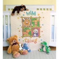 """Набор для вышивания крестом """"Животные//Wild Thing Quilt"""" DIMENSIONS 73249"""