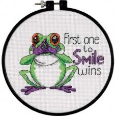 """Набор для вышивания крестом """"Первая улыбка//First One to Smile"""" DIMENSIONS 73519"""