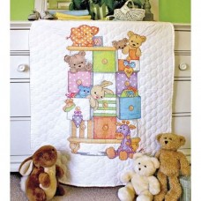"""Набор для вышивания крестом """"Детские тумбочки//Baby Drawers Quilt"""" DIMENSIONS 73537"""