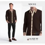 Акция! Мужская рубашка комбинированая ЧСК-012