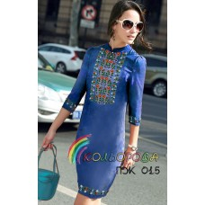 Платье женское с рукавами ПЖ-015