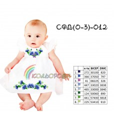 Сарафан детский (0-3 года)  СФД (0-3р.)-012