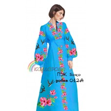 Платье женское с рукавами БОХО-012А (длинное)