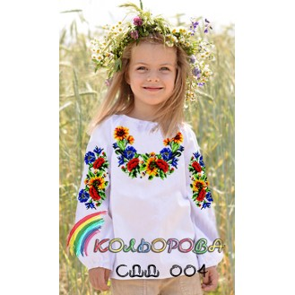 Детские рубашки (девочки 5-10 г.)