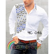 Мужская рубашка ЧС-046