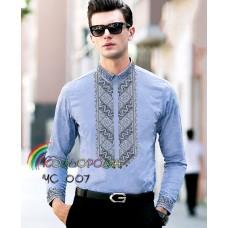 Мужская рубашка ЧС-007