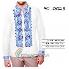 Мужская рубашка ЧС-002Б