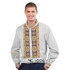 Мужская рубашка ЧС-006