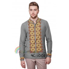 Мужская рубашка ЧС-008