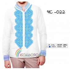 Мужская рубашка ЧС-022