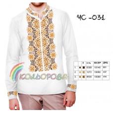 Мужская рубашка ЧС-031