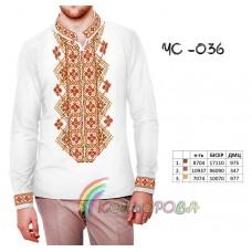 Мужская рубашка ЧС-036