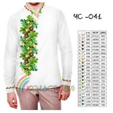 Мужская рубашка ЧС-041