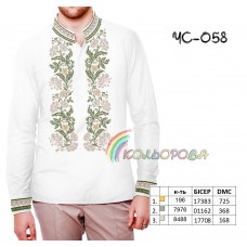 Мужская рубашка ЧС-058