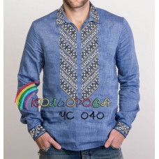 Мужская рубашка ЧС-040