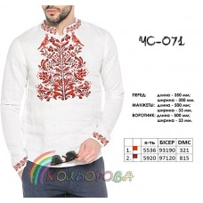 Мужская рубашка ЧС-071