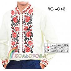 Мужская рубашка ЧС-048