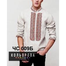 Мужская рубашка ЧС-009Б