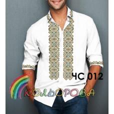 Мужская рубашка ЧС-012