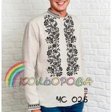 Мужская рубашка ЧС-025
