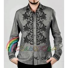 Мужская рубашка ЧС-051