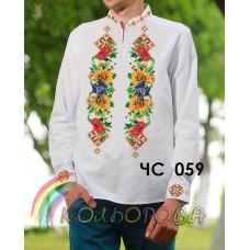 Мужская рубашка ЧС-059
