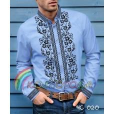 Мужская рубашка ЧС-020